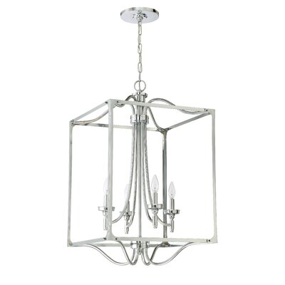 Sophia 4-Light Foyer Pendant Finish: Chrome