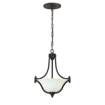 Beauchamp 3-Light Pendant Finish: Aged Bronze Brushed