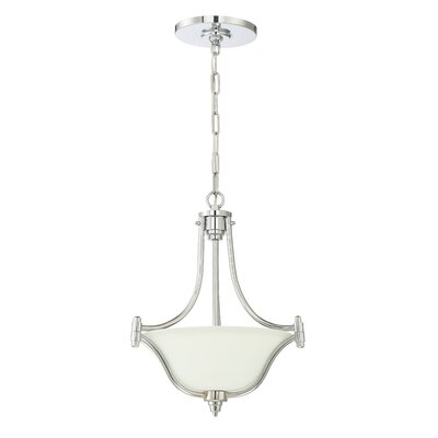 Sophia 3-Light Pendant Finish: Chrome