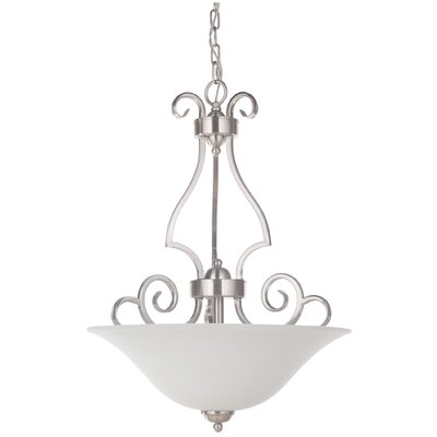 Hollingshead 3-Light Inverted Pendant