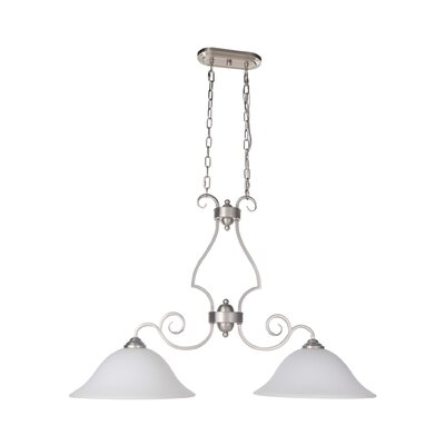 Hollingshead 2-Light Island Pendant