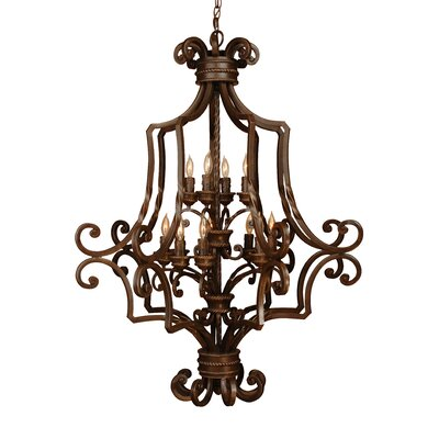 Kellie 12-Light Foyer Pendant