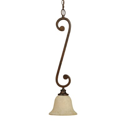 Whipkey 1-Light Mini Pendant Size: 7.5