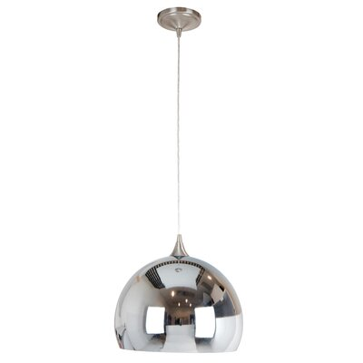Presler 1-Light Mini Pendant Finish: Chrome
