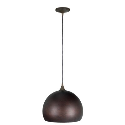 Presler 1-Light Mini Pendant Finish: Grunge Ruse