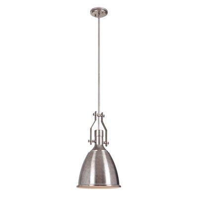 Felton 1-Light Mini Pendant Finish: Tarnished Silver