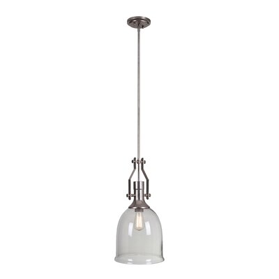 Fenwick 1-Light Mini Pendant Finish: Tarnished Silver