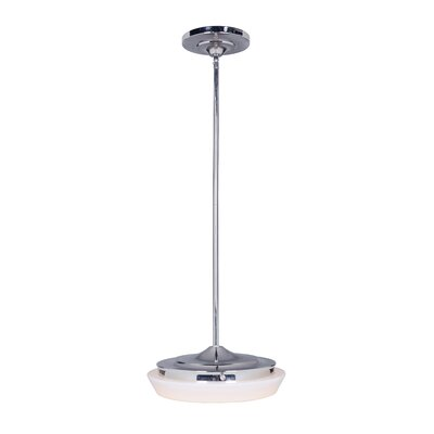 Gratz 1-Light Mini Pendant Finish: Polished Nickel