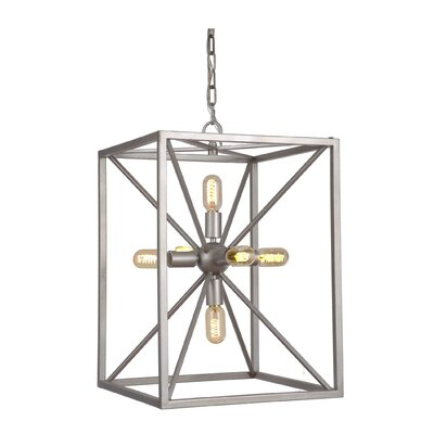 Aguirre 6-Light Mini Pendant Finish: Athenian Obol