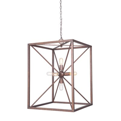 6-Light Mini Pendant Finish: Peruvian Bronze