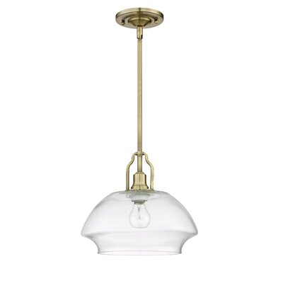 Lundholm 1-Light Mini Pendant