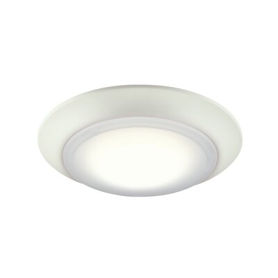 Nagesh LED Flush Mount Finish: White