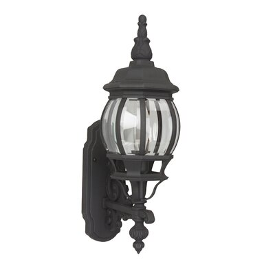 Oakhill Traditional 1-Light Outdoor Sconce Finish: Rust