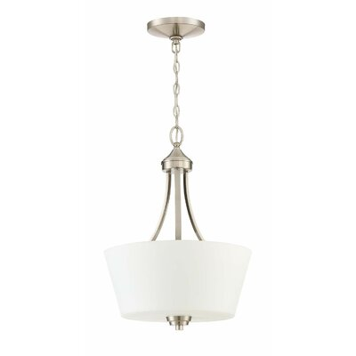 Colfax 3-Light Inverted Pendant Finish: Brushed Polished Nickel