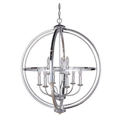 Gluck 9-Light Foyer pendant