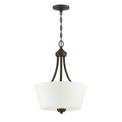 Colfax 3-Light Inverted Pendant Finish: Espresso