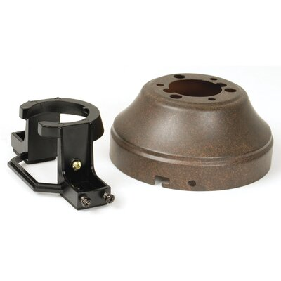 Close Mount Adapter Color: Rustic Iron