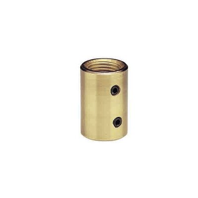 Coupler for Ceiling Fan Downrods Color: Brushed Nickel
