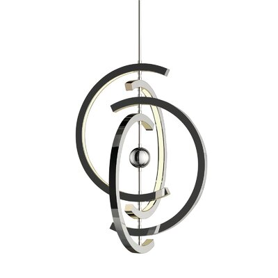 Corinna 4 Crescent 4-Light LED Geometric Pendant