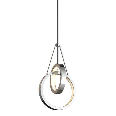 Corinna 2 Ring 2-Light LED Geometric Pendant