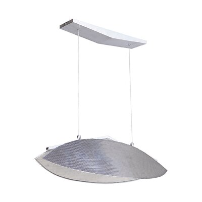 Davison Large 1-Light LED Geometric Pendant
