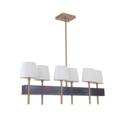 Brinsley 6-Light Kitchen Island Pendant