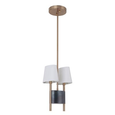 Albertina 2-Light Kitchen Island Pendant