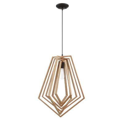 Shelbi 1-Light Geometric Pendant