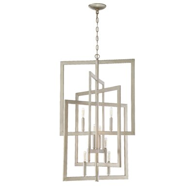 Dendron 8-Light Foyer Pendant