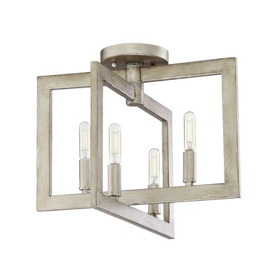 Rosanna 4-Light Semi Flush Mount
