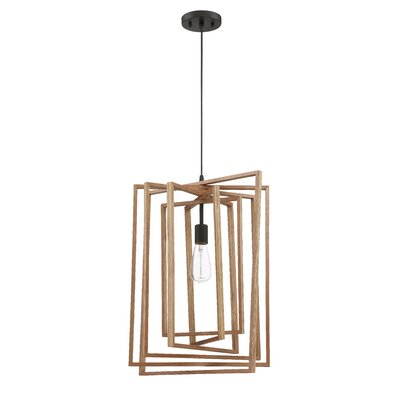 Karly 1-Light Geometric Pendant