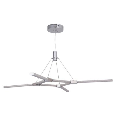 Elsa 8 Arm 8-Light LED Sputnik Chandelier
