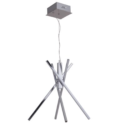 Ethan 4 Arm LED Sputnik Chandelier