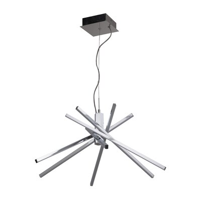 Ethan 6 Arm 1-Light LED Sputnik Chandelier