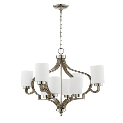 Classic 8-Light Shaded Chandelier