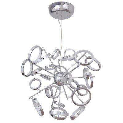 Kincannon 26-Light LED Sputnik Chandelier