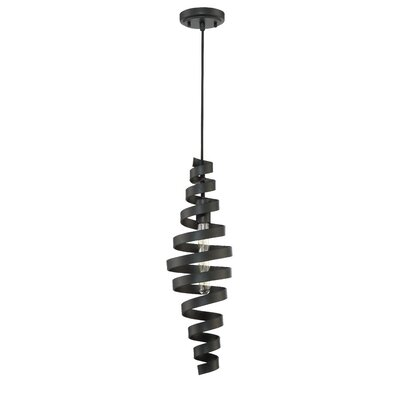 Bianca 1 Light Mini Pendant Size: 22.5 H x 6.75 W x 6.75 D
