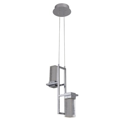 Chira 2-Light LED Cascade Pendant