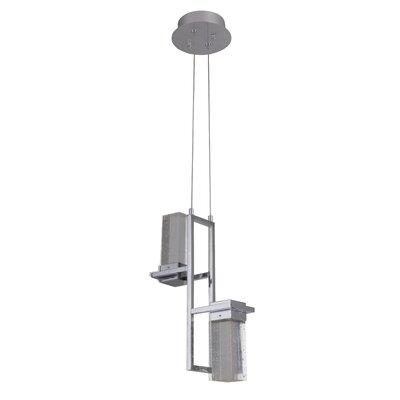 Chira 2-Light LED Cascade Pendant