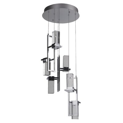 Illinois 1-Light LED Cascade Pendant