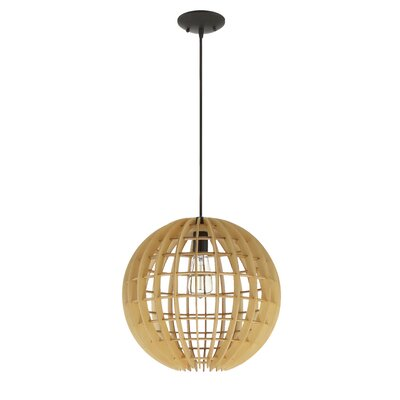 Devlin 1-Light Globe Pendant