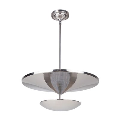 Kelen 1-Light LED Mini Pendant Finish: Polished Nickel