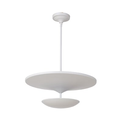 Kelen 1-Light LED Mini Pendant Finish: White