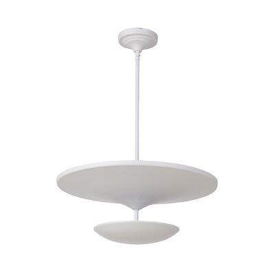 Kelen 1-Light LED Mini Pendant Finish: White