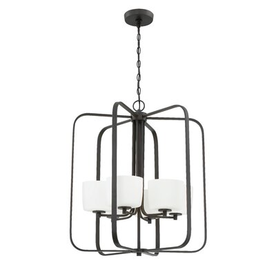 Rosalin 6-Light Foyer Pendant Finish: Aged Bronze Brushed