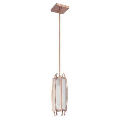 Byars 1-Light Mini Pendant Finish: Brushed Copper