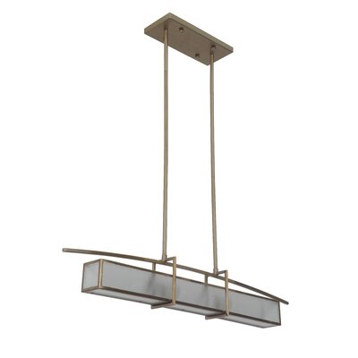 Byars 2-Light Kitchen Island Pendant Finish: Brushed Bronze