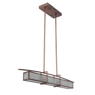 Byars 2-Light Kitchen Island Pendant Finish: Brushed Copper