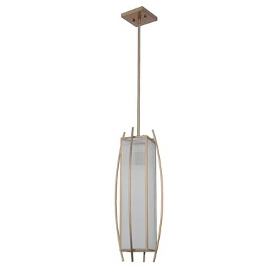 Byars 1-Light Medium Mini Pendant Finish: Brushed Bronze