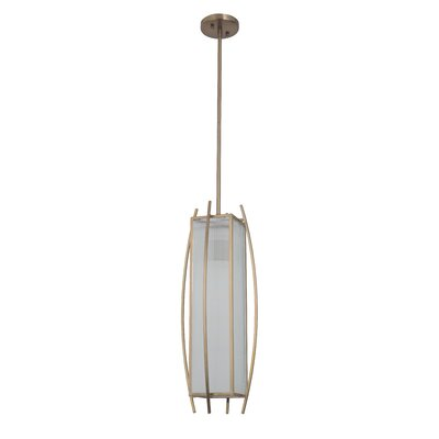 Byars 1-Light Medium Mini Pendant Finish: Brushed Copper